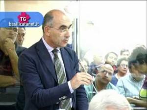 Il consigliere regionale Giannino Romaniello