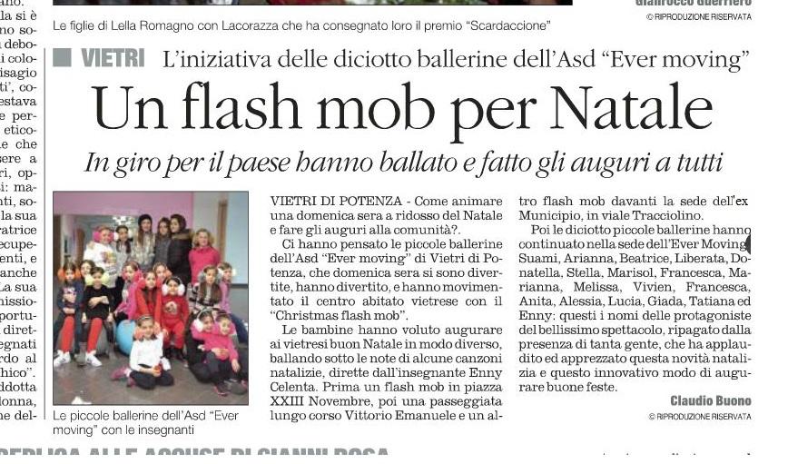 """L'articolo pubblicato ieri 23.12.2014 sul """"Quotidiano del Sud"""""""