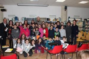 De Amicis e Luciani con alunni e docenti a Bella