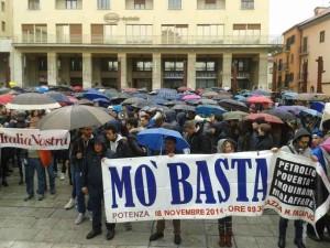 La manifestazione dell'8 novembre