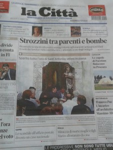 """La prima de """"La Città"""" di Salerno di ieri"""