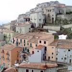 Una veduta di Castelgrande