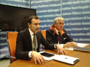 A sinistra Michele Napoli  (FI)