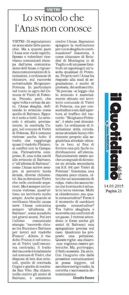 14.03.2015 - Pag. 21