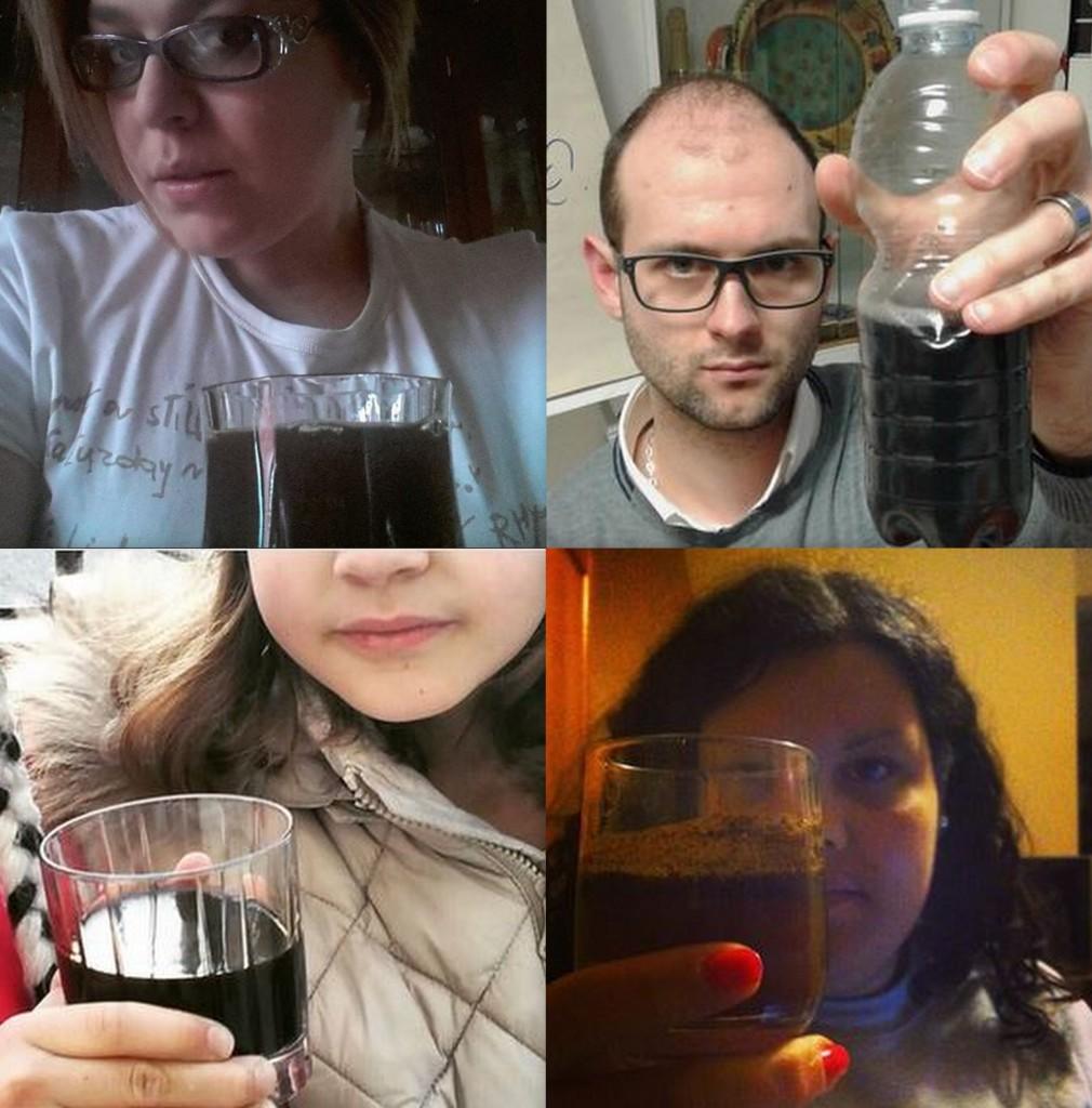 Alcune foto postate con gli hashtag #vogliotrasparenza #aqua2015