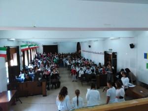 Foto 1 - Sala Convegni durante il recital finale di venerdì