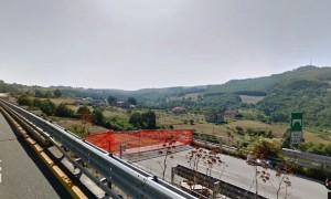 Viadotto TORRE I con la carreggiata mancante