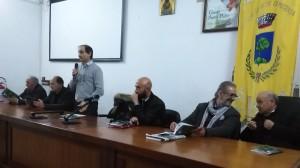 Il tavolo dei relatori del convegno a Vietri