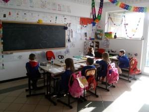 Una classe della scuola dell'infanzia di Savoia di Lucania