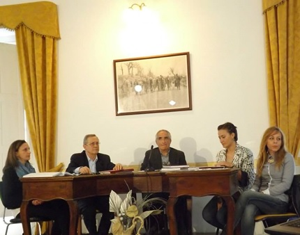 """""""Su il sipario"""": il tavolo dei relatori a Muro Lucano"""