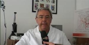 Il dott. Di Palma, dirigente dell'Unità Operativa di Chirurgia, che ha effettuato l'intervento