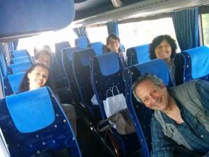 I 5 giornalisti in giro per il Marmo Platano Melandro