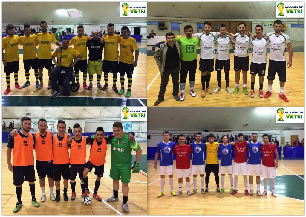 Le 4 semifinaliste del torneo Melandro Cup
