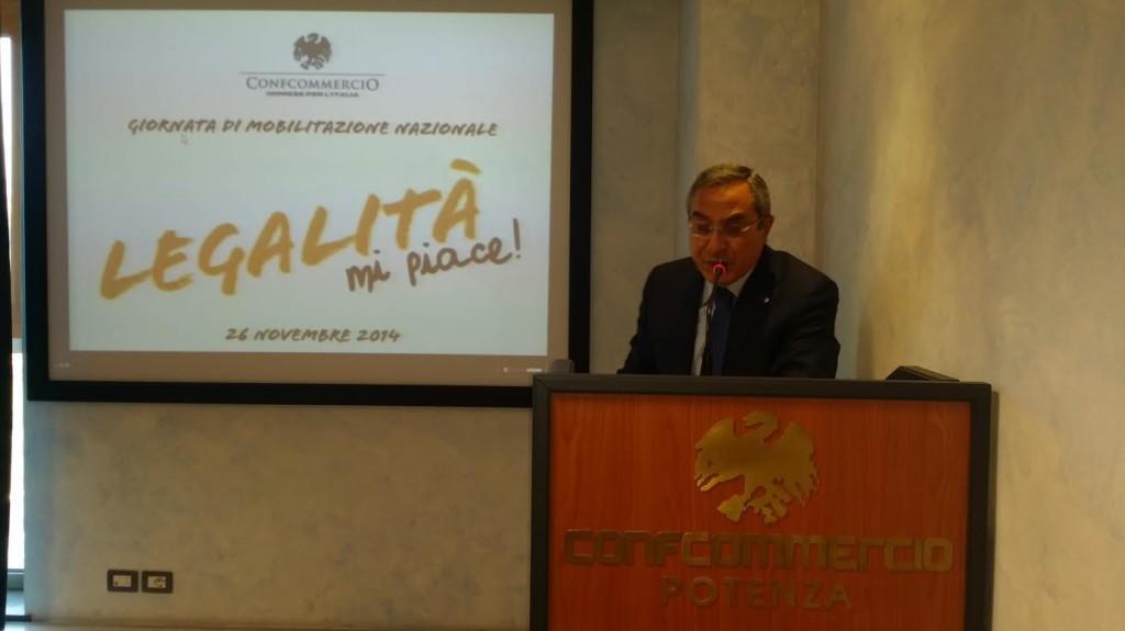 Fausto De Mare, presidente  Confcommercio Basilicata