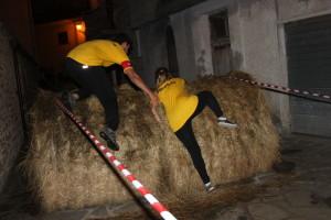 21.8.2015 - Cattura del cinghiale a Sasso di Castalda