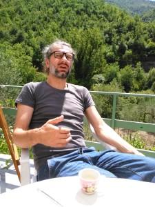 L'artista Massimo Sardo