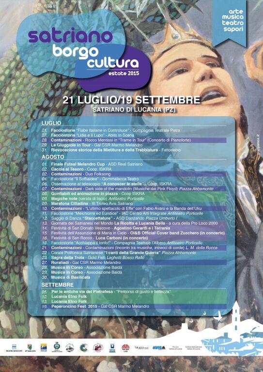 Satriano Borgo cultura Estate 2015