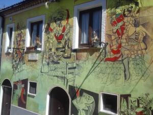 Murales sul peperoncino a Satriano