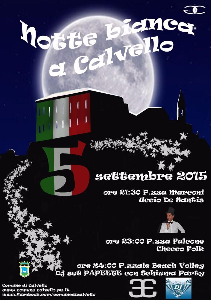 Notte bianca a Calvello