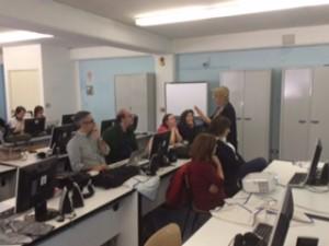 Dianora Bardi con i docetni di Rionero 2