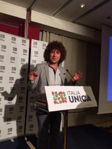Fabio Dapoto di Italia Unica