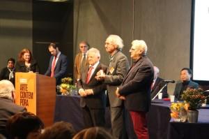 Una foto della premiazione a Firenze