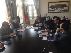 incontro in Albania