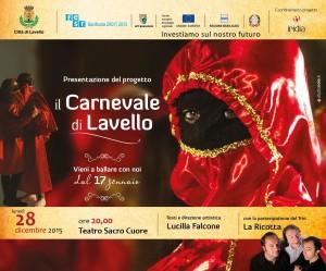 28.12.2015 - IL CARNEVALE DI LAVELLO