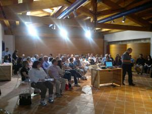 Uno dei tanti incontri promosso al Convento di Vietri