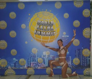 "Teresa Magrino a Miami per il ""World Salsa Summit"""