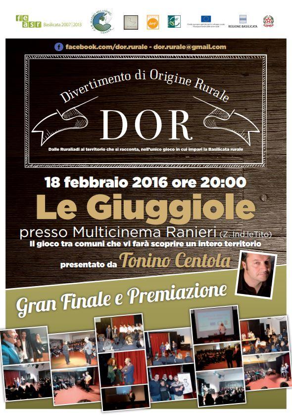 ULTIMA TAPPA DI DOR - 18.2.2016