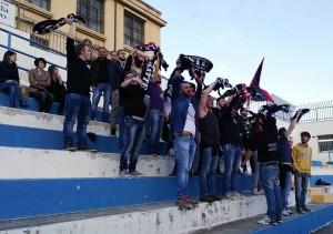 I tifosi del Picerno a Manfredonia