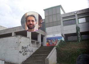 L'Itis e nel fotino il prof. Tomasiello