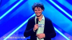 Ivan Dalia durante l'esibizione al talent