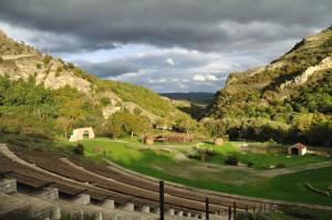 Un'area del Parco della Grancia a Brindisi Montagna