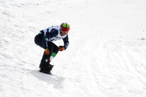 Lorenzo Catapano in pista