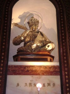 Statua di Sant'Anselmo Martire