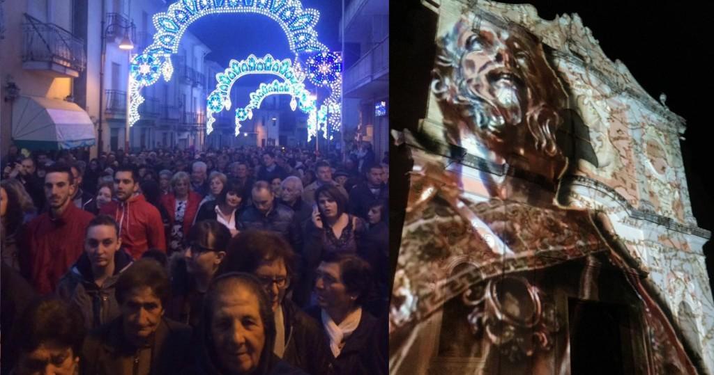 Pienone su Corso Vittorio Emanuele