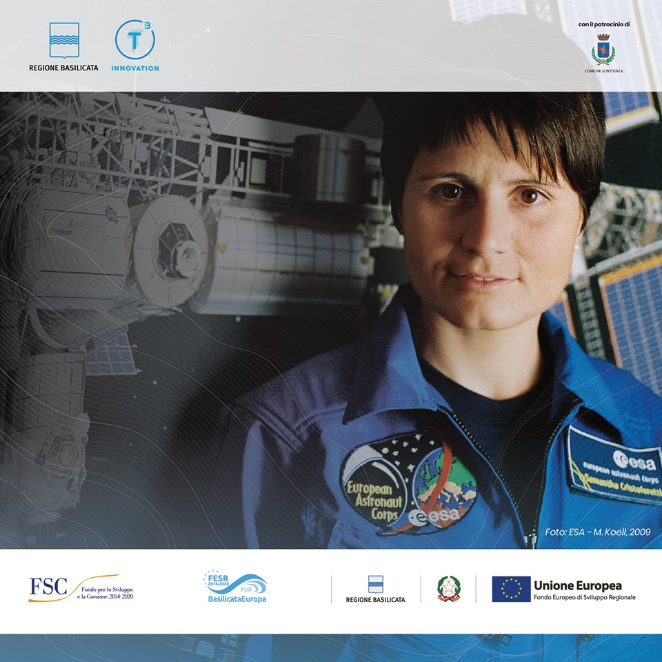 L'astronauta Samantha Cristoforetti ospite a Potenza
